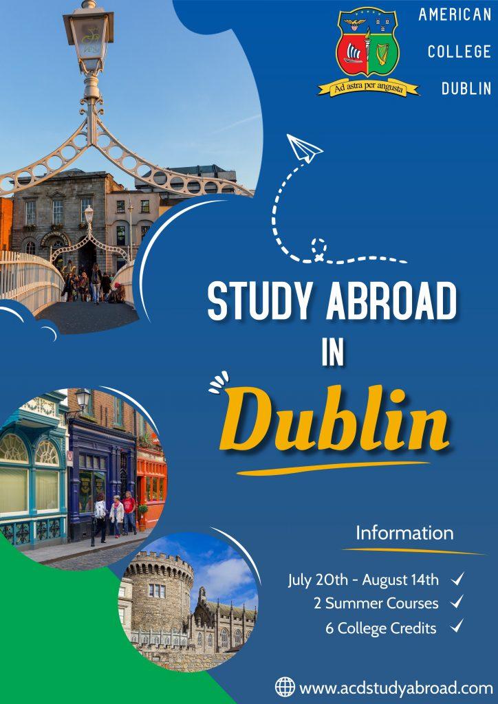 Study abroad summer 2021
